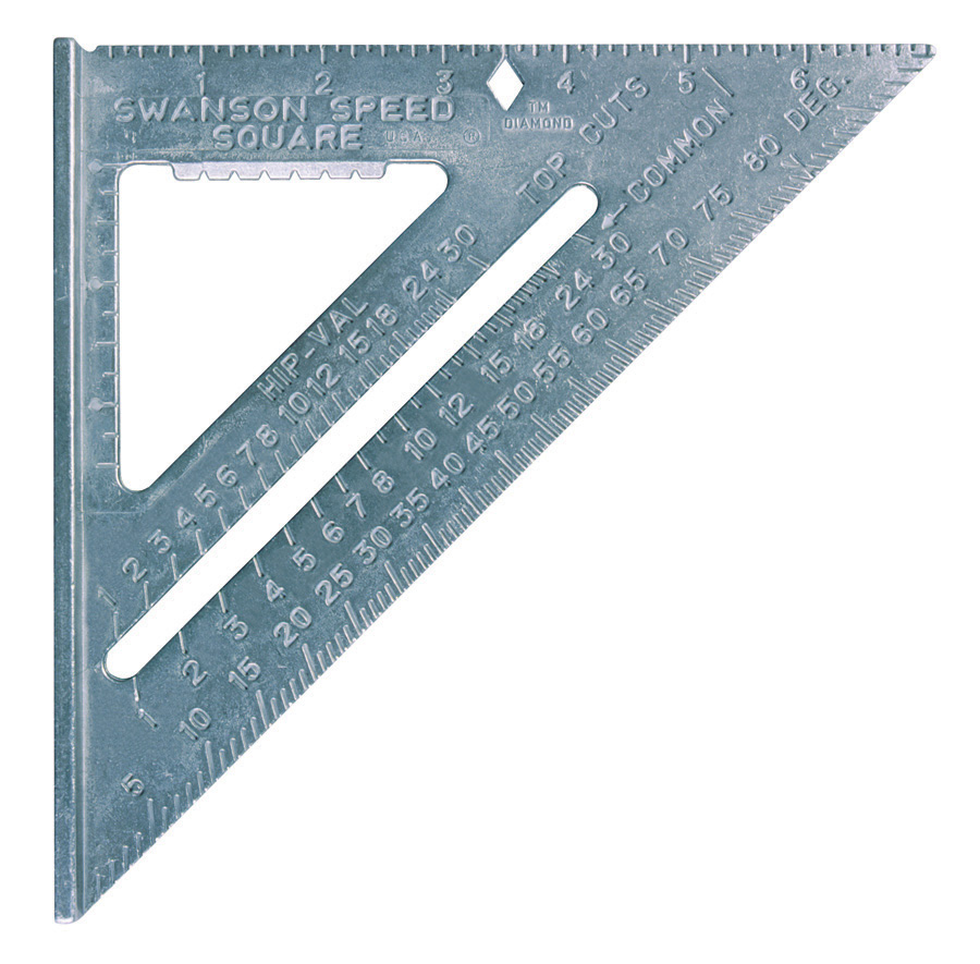 The Speed 174 Square Plain Gradations Swanson Tool Company