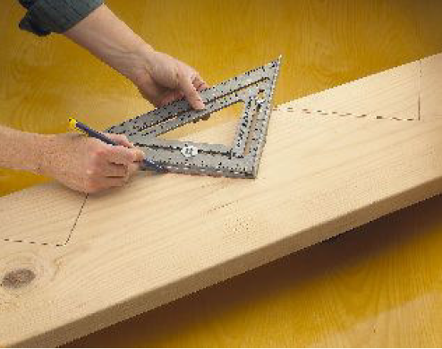 Laying Out Stairswith The Big 12 Square Layout Bar Swanson