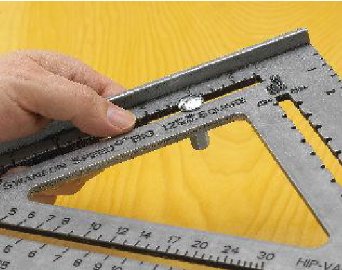Laying Out Stairswith The Big 12 Square Layout Bar Swanson Tool Company