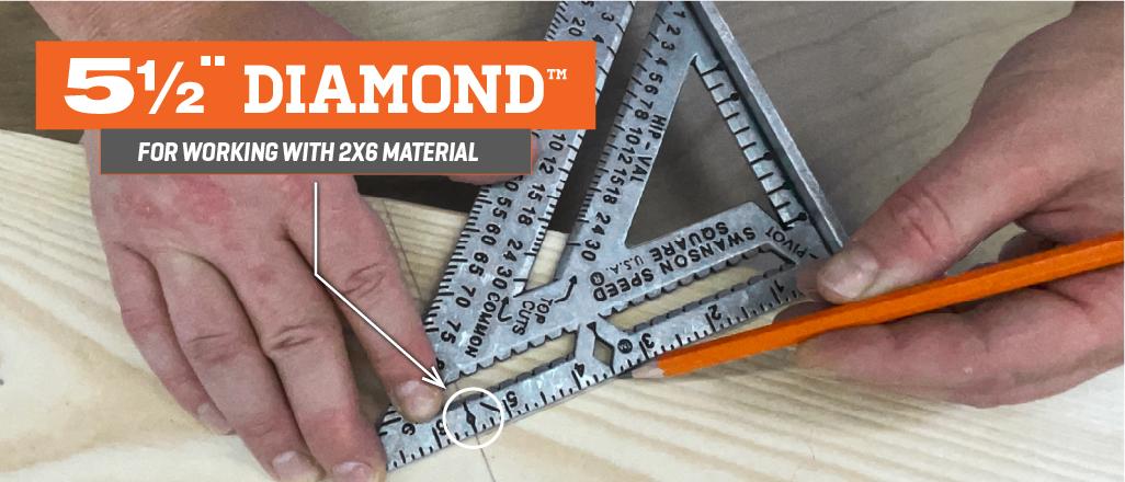 Speed Square PRO 5.5 Diamond™