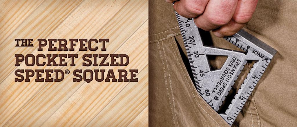 Swanson Speed Trim Square-Pocket Sized Square